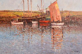 Laszlo Michael Ritter (1937-2003) Hungarian, Reflections at Morgan O'Driscoll Art Auctions