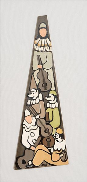 Markey Robinson (1918-1999), The Auld Triangle at Morgan O'Driscoll Art Auctions