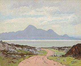 Ann Primrose Jury (1907-1995) RUA, Connemara Landscape at Morgan O'Driscoll Art Auctions