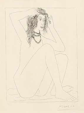Pablo Picasso (1881-1973), Au Bain at Morgan O'Driscoll Art Auctions
