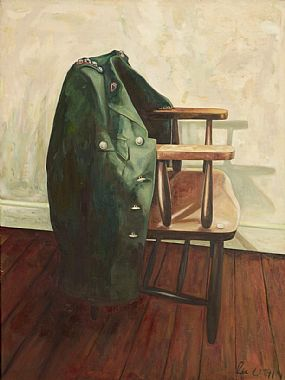 Rita Duffy RUA (b.1959), RUC Jacket - from The Jacket Series No.3 at Morgan O'Driscoll Art Auctions