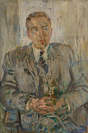 Basil Blackshaw HRHA RUA (1932-2016), Portrait of a Gentleman at Morgan O'Driscoll Art Auctions
