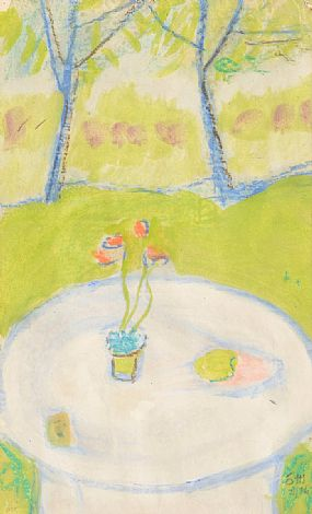 Tony O'Malley HRHA (1913-2003), The Garden View at Morgan O'Driscoll Art Auctions