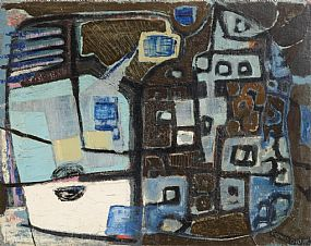 Gerard Dillon RHA RUA (1916-1971), Two Sides at Morgan O'Driscoll Art Auctions
