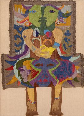 Gerard Dillon RHA RUA (1916-1971), Hands Across the Border at Morgan O'Driscoll Art Auctions