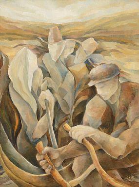 Margaret Egan (20th/21st Century), Clann na Talmhan at Morgan O'Driscoll Art Auctions