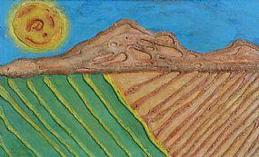 Gerard Dillon RHA RUA (1916-1971), Sun over the Landscape at Morgan O'Driscoll Art Auctions