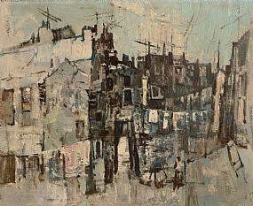 George Campbell RHA RUA (1917-1979), Dublin Streets at Morgan O'Driscoll Art Auctions