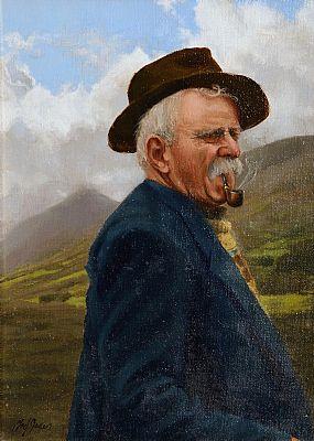 Ted Jones (b.1952), South Kerry Farmer at Morgan O'Driscoll Art Auctions