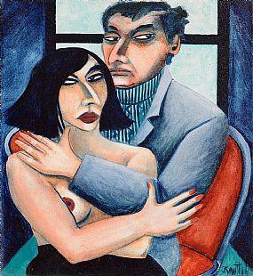 Graham Knuttel (b.1954), Odd Couple at Morgan O'Driscoll Art Auctions