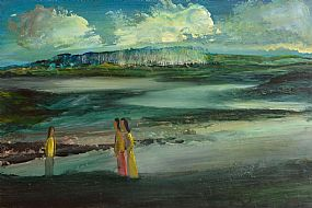 Daniel O'Neill (1920-1974), Figures in Landscape at Morgan O'Driscoll Art Auctions
