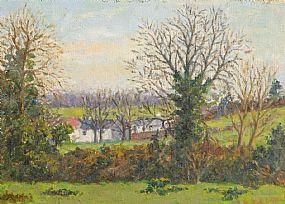 Grace Henry HRHA (1868-1953), Cottage Near Westport at Morgan O'Driscoll Art Auctions
