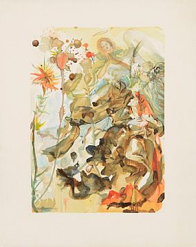 Salvador Dali (1904-1989) Spanish, From the Divine Comedy Series, 1964 at Morgan O'Driscoll Art Auctions