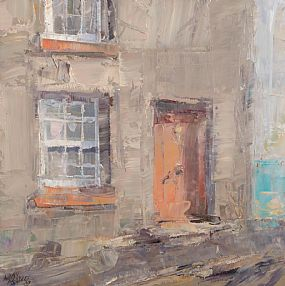 Aidan Bradley (b.1961), Door Way Castletownsend at Morgan O'Driscoll Art Auctions