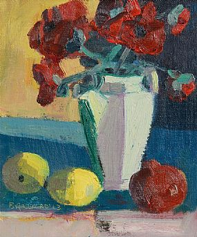 Brian Ballard RUA (b.1943), Roses and Lemons at Morgan O'Driscoll Art Auctions