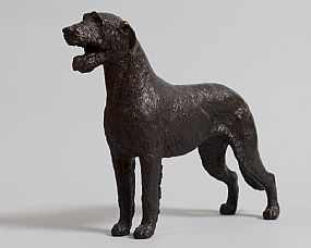 Stephen McKeown (20th/21st Century), Irish Wolfhound at Morgan O'Driscoll Art Auctions