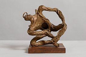 Leon Underwood (1890-1975) British, Fledgling (1960) at Morgan O'Driscoll Art Auctions