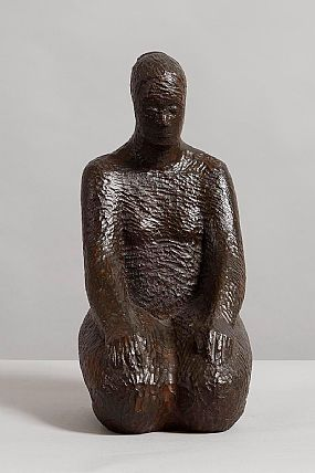 Cliodna Cussen (20th/21st Century), Seated Woman at Morgan O'Driscoll Art Auctions