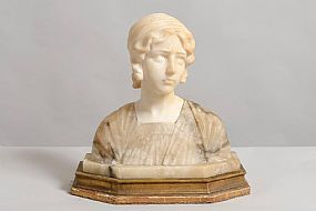 19th Century Continental School, Female Bust at Morgan O'Driscoll Art Auctions