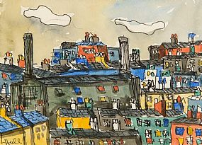 Kenneth Hall, Battersea Power Station, London at Morgan O'Driscoll Art Auctions