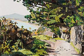 Stephen Cullen, A View of the Sugarloaf from Killiney Hill at Morgan O'Driscoll Art Auctions