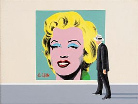 Ken O'Neill, Admiring Marylin at Morgan O'Driscoll Art Auctions