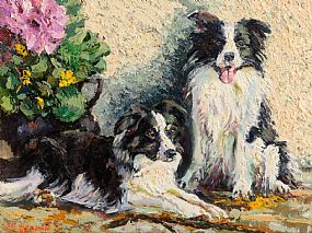 James S.Brohan, Collies at Morgan O'Driscoll Art Auctions