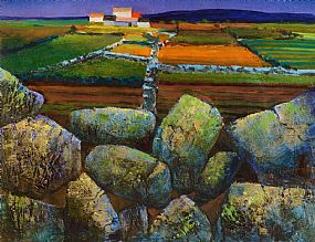 Kenneth Webb, West of Ireland Farmstead at Morgan O'Driscoll Art Auctions