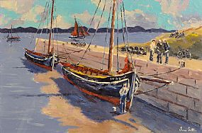 Ivan Sutton, Low Tide, Carraroe, Co Galway at Morgan O'Driscoll Art Auctions
