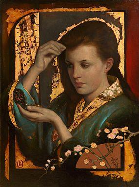 Ken Hamilton, Girl in a Kimono at Morgan O'Driscoll Art Auctions