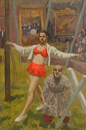Patrick Leonard, Circus, c.1959 at Morgan O'Driscoll Art Auctions