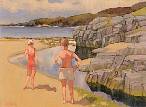 Norman J. Smyth, On The Atlantic Drive, Doagh, Co. Donegal at Morgan O'Driscoll Art Auctions