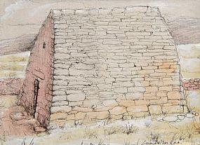 Liam Belton, Gallurus Oratory, Dingle Penninsula, Co. Kerry at Morgan O'Driscoll Art Auctions