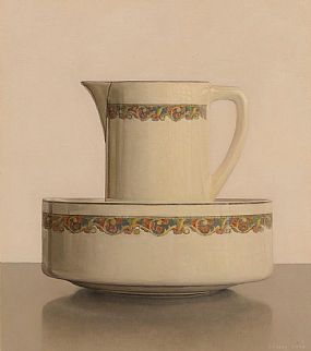 Comhghall Casey, Still Life - Jug and Bowl at Morgan O'Driscoll Art Auctions