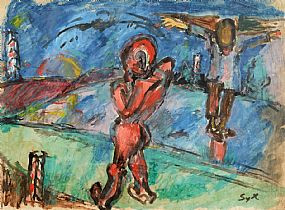 Symcho Israel Moszkowicz, Crucifixion at Morgan O'Driscoll Art Auctions
