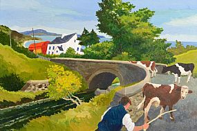 James MacIntyre, Herding the Cattle at Morgan O'Driscoll Art Auctions