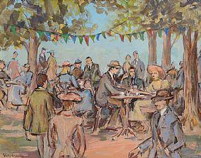 Gladys MacCabe, Garden F�te at Morgan O'Driscoll Art Auctions