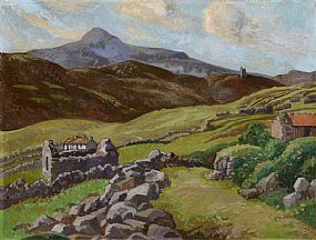 Dorothy Isabel Blackham, Croaghan, Achill at Morgan O'Driscoll Art Auctions