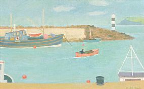 Martin MacKeown, Leaving Harbour at Morgan O'Driscoll Art Auctions