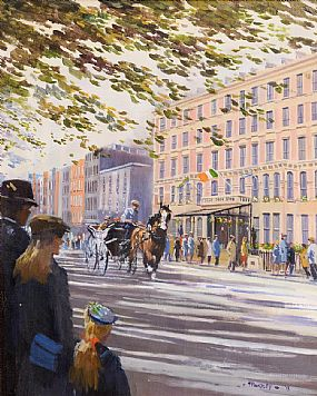 David Trundley, The Shelbourne Hotel at Morgan O'Driscoll Art Auctions