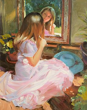 Vladimir Volegov, In The Mirror at Morgan O'Driscoll Art Auctions