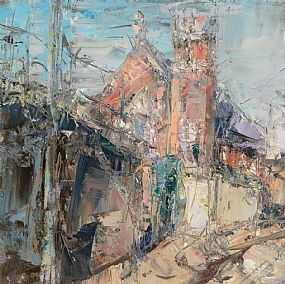 Aidan Bradley, Convent Chapel, Mountjoy St., Dublin at Morgan O'Driscoll Art Auctions