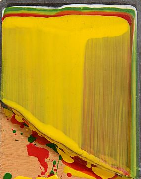 Ciaran Lennon, Red, Yellow, Green and Orange on Slate at Morgan O'Driscoll Art Auctions