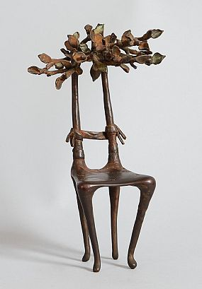 Caroyln Mulholland, Tree Seat (1988) at Morgan O'Driscoll Art Auctions