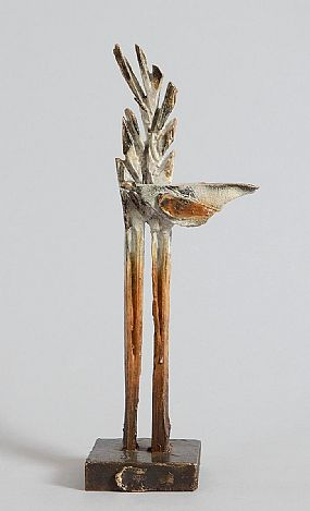 Leo Higgins, Bird in Tree Maquette at Morgan O'Driscoll Art Auctions