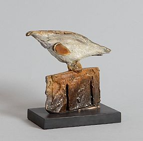 Leo Higgins, Bird on Fence at Morgan O'Driscoll Art Auctions