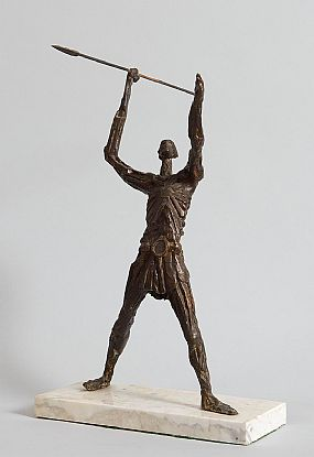 John Behan, The Warrior at Morgan O'Driscoll Art Auctions