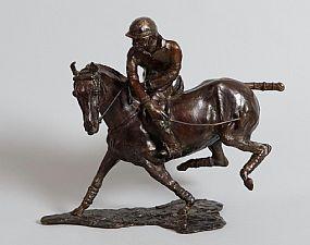 Jos� Maria David, Le Joueur de Polo at Morgan O'Driscoll Art Auctions