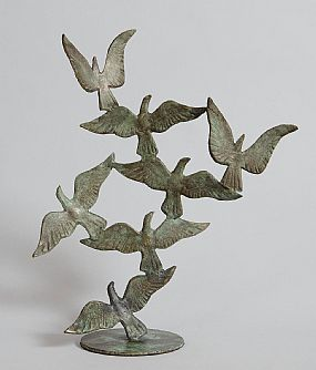 John Behan, Birds in Flight at Morgan O'Driscoll Art Auctions