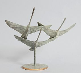 Ray Delaney, Children of Lir at Morgan O'Driscoll Art Auctions